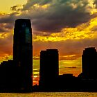New York Sunset by ArtLandscape