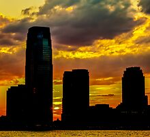 New York Sunset by ArtLandscape