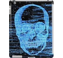 tv horror iPad Case/Skin