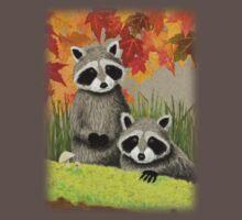 Fall Raccoon Kids Clothes