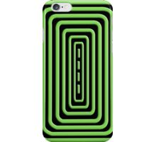 Green Coils iPhone Case/Skin
