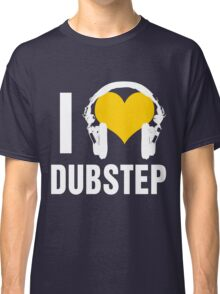 I Love Dubstep (dark) Classic T-Shirt