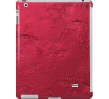 METTALLIC RED iPad Case/Skin