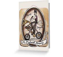 Mr Frederick Mercury Greeting Card
