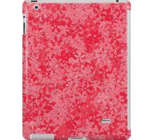 RED DAISY iPad Case/Skin