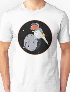 Space Dino Jetpack Unisex T-Shirt