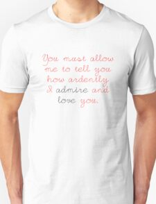 Darcy's Proposal T-Shirt