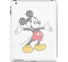 Mickey Mouse Color iPad Case/Skin