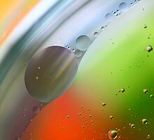 Abstract Oil in water. by Dipali S