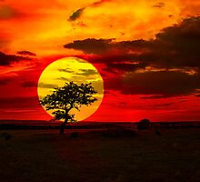 sunset #3 by ketut suwitra