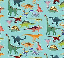 Dazzling Dinos - pattern by tigertea