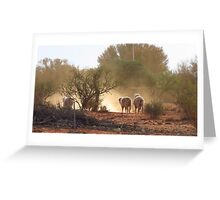 Dusty Mutton Greeting Card