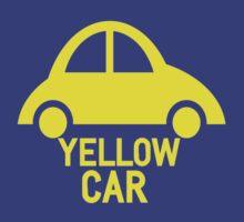 Yellow Car by masqueblanc
