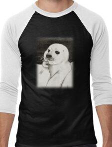 Fur Seal Men's Baseball ¾ T-Shirt