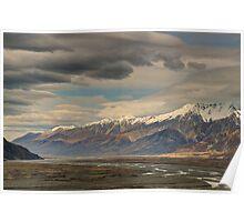 Tasman River Valley Poster