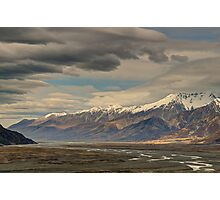 Tasman River Valley Photographic Print