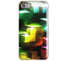 bright tetris iPhone Case/Skin