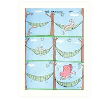 hammock Art Print