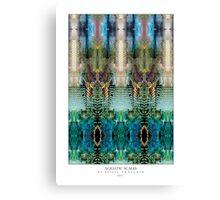 AQUATIC SCALES Canvas Print