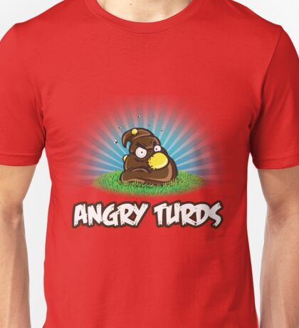 Angry Turds Unisex T-Shirt