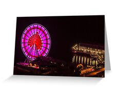 Valentines Day 2013 at the Seattle Great Wheel Greeting Card