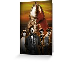 Doctor Who - Terror of the Zygons Greeting Card