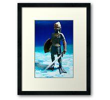Zora Armor Link Framed Print
