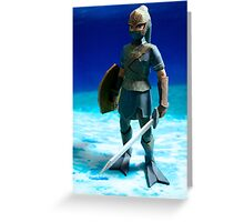 Zora Armor Link Greeting Card