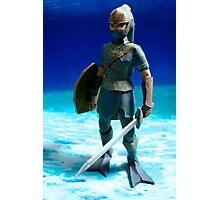 Zora Armor Link Photographic Print