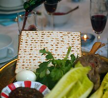 Jewish Festive meal on Passover  by PhotoStock-Isra