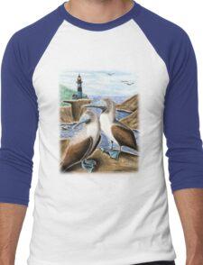 Blue-footed Booby Men's Baseball ¾ T-Shirt