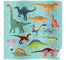 Dazzling Dinos Poster