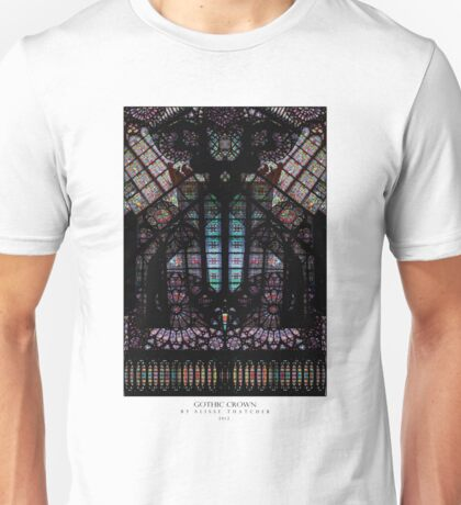 GOTHIC CROWN Unisex T-Shirt
