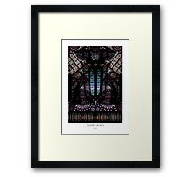GOTHIC CROWN Framed Print