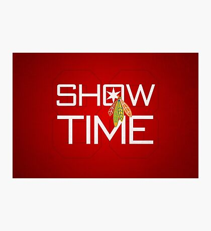 Show Time Photographic Print