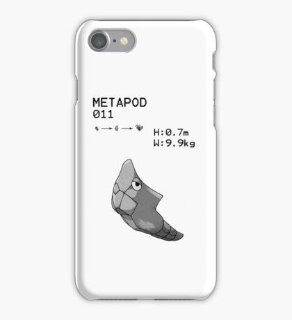 B&W Metapod iPhone / iPod Case iPhone Case/Skin