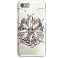 True North Compass Beetle iPhone Case/Skin