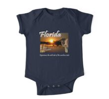 Florida (Experience the Wild Side of the Sunshine State) One Piece - Short Sleeve