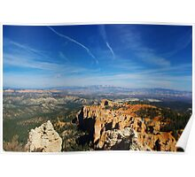 Bryce with a view Poster