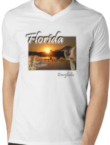Florida Everglades Mens V-Neck T-Shirt