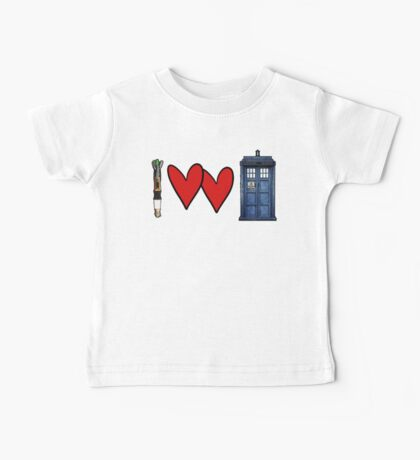 I love Doctor Who Baby Tee