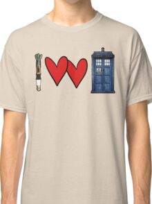 I love Doctor Who Classic T-Shirt