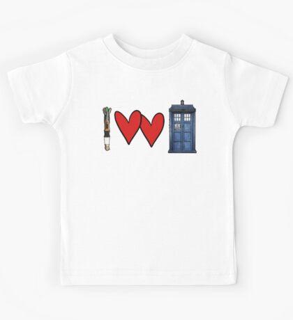 I love Doctor Who Kids Tee