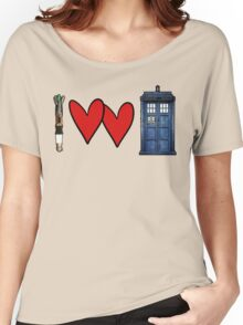 I love Doctor Who Women's Relaxed Fit T-Shirt
