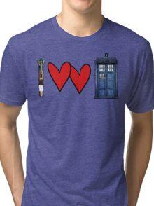 I love Doctor Who Tri-blend T-Shirt