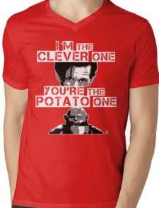 Doctor Who clever potato Mens V-Neck T-Shirt