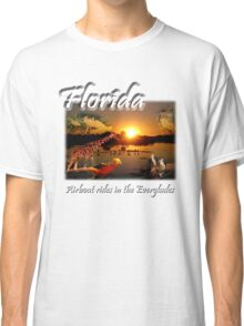 Florida (Airboat Rides in the Everglades) Classic T-Shirt