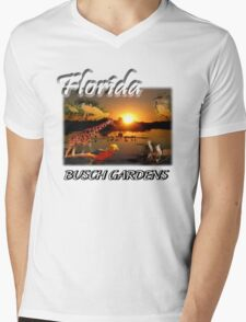 Florida (Busch Gardens) Mens V-Neck T-Shirt