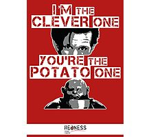 Doctor Who clever potato Photographic Print