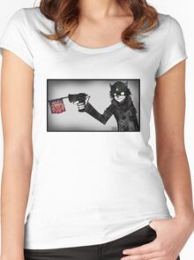HA HA You're Dead Women's Fitted Scoop T-Shirt